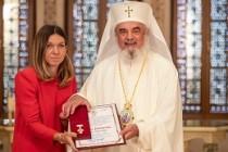 Patriarhul României i-a acordat Simonei Halep Crucea Patriarhală