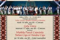 Cântecul de dragoste de-a lungul Dunării, festival internațional de folclor, ediția a XIII-a, Brăila, 16-18 iulie 2019