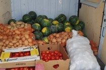Legume și fructe, oferite ilegal spre vânzare, confiscate de jandarmi