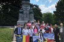 """De la Alba Iulia la Viena, la """"IZVOR DE SUFLET ROMÂNESC"""""""
