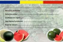 Pepenii românești prezenți în piețele agroalimentare sunt etichetați corespunzător