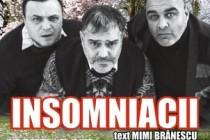 Comedia Insomniacii cu Leonid Doni, Gheorghe Ifrim și Marius Chivu la Brăila