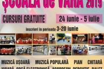 """Şcoala Populară de Arte """"Vespasian Lungu"""" Brăila organizează cursuri gratuite în cadrul Școlii de Vară"""