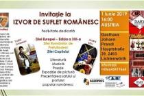 Festivitate dedicată Zilei Europei Ediția a XIII-a, Zilei Românilor de Pretutindeni și Zilei Copilului în Austria