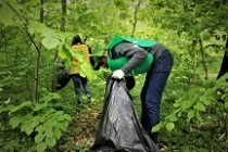 Peste 140 tone de deșeuri colectate în acțiunea de igienizare organizată de Romsilva și Ministerul Tineretului și Sportului