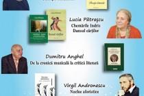 """DUMITRU ANGHEL, VIRGIL ANDRONESCU, VALENTINA BALABAN și LUCIA PĂTRAȘCU invitați la Salonul Literar """"Axis Libri"""" din Galați"""