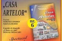 """Numărul şase al revistei """"Casa Artelor"""" va fi prezentat publicului pe 12 martie 2019, în Sala de spectacole a Şcolii Populare de Arte """"Vespasian Lungu"""" Brăila"""