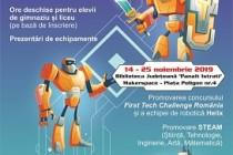 Ore deschise desfășurate la Makerspace în cadrul Săptămânii Europene a Roboticii
