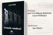 Lansarea volumului de poezie Urmele umbrei de Lazăr Bobi