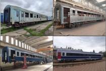 Vagoane modernizate în compunerea trenului IR 1765/1766 pe relația Iași-Timișoara și retur