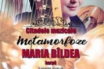 """Recital Maria Bîldea (harpă) la Palatul """"Lyra"""" Brăila"""