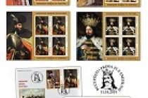 Emisiune de mărci poștale Domnitori români în pictură