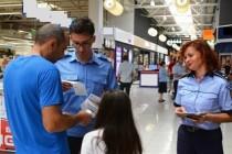 Campania 10 pentru siguranță a ajuns la Brăila Mall