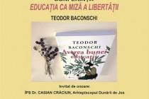 Lansarea volumului Averea bunei educații și conferință pe tema educației la Muzeul Brăilei