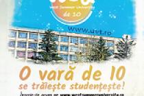 Au început înscrierile pentru West Summer University, Timișoara