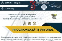 Crystal System organizeaza un curs de programare in limbajul ABAP la FEAA Galați