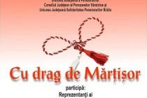 Cu drag de mărţişor, eveniment la Centrul Județean pentru Conservarea și Promovarea Culturii Tradiționale Brăila
