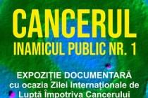 Brăila | Cancerul – Inamicul public nr.1. Expoziție documentară la bibliotecă