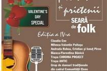 """Seară de folk de Valentine's Day la Școala de Arte """"Vespasian Lungu"""""""