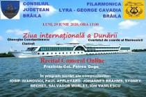 Ziua Internationala a Dunarii marcata printr-un concert online Lyra