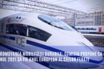 Comisia europeană propune ca anul 2021 să fie Anul european al căilor ferate