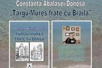 Braila | Lansarea volumului Târgu-Mureș frate cu Brăila de Constanța Abălașei-Donosă