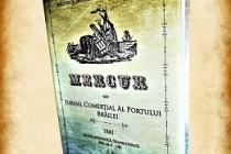 Lansarea cartii Mercur sau Jurnal Comerțial al Portului Brăilei, 1841, volumul 2