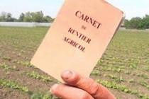 APIA: suspendarea activității de vizare a carnetelor de rentier agricol
