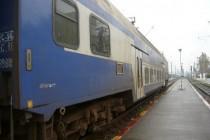 Accident feroviar în zona podului rutier DN 2B, Brăila-Buzău