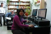 Biblioteca din comuna brăileană Roşiori atrage ca un magnet copiii şi vârstnicii