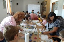 Atelier de creatie Sticla Fuzionata, primul workshop din Romania organizat la Biblioteca Judeteana Braila
