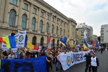 Marsul pentru Basarabia de la Bucuresti a adoptat Proclamația de la București