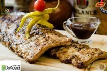 Coastă de porc friptă la grătar - reţetă germană