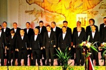 """Corul barbatesc """"Armonia"""" pe scena Festivalului International de Muzica Corala """"ProMuzica"""""""