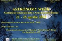 Ziua Astronomiei, 25 aprilie 2015