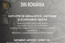 Expozitie de medalistica, uniforme si echipament militar al veteranilor