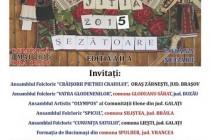 """Jitia: Sezatoare cultural-artistica """"Datini, joc si voie  buna"""", 3 mai 2015"""