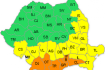 Val de căldură şi disconfort termic accentuat - avertizare de cod galben si portocaliu, 29-30 iulie a.c.