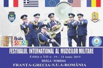 Muzica militara: Sensibilitate, ritm si eleganta la festivalul de la Braila
