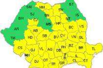 Cod galben de ninsori si viscol în perioada 5-7 martie 2015