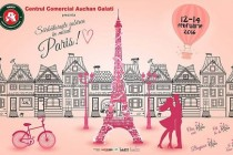 Micul Paris la Centrul Comercial Auchan Galați de Valentine's Day