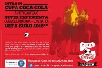 Cupa Coca-Cola la fotbal în sală pentru liceeni, ediția 2016