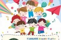 Jocurile copilăriei, ateliere de creație pentru copii, la Centrul Comercial Auchan Galați