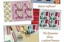 Ia românească, tezaur național - emisiune de mărci poștale