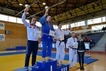Polițiști brăileni pe podium la Campionatul de judo - Deva, 2016