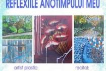 """Vernisajul expoziției """"Reflexiile anotimpului meu"""" realizată de artistul plastic Anca Ciutacu"""