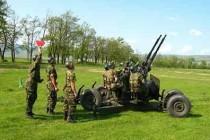 Artileria, mândria armatei romane