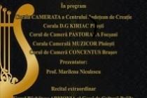 Festivalul Coral Naţional Armonifest, ediția a treia, Brăila, 19 noiembrie 2016
