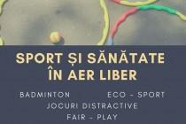 Sport și sănătate în aer liber! Veniți in Parcul Monument și în cartierul Viziru