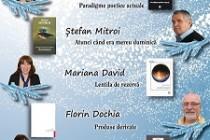 """Se redeschide stagiunea Salonului Literar """"Axis Libri"""" Galați. Vor lansa cărți Ștefan MITROI, Florin DOCHIA, Viorica RĂDUȚĂ, Mioara BAHNA și Mariana DAVID"""